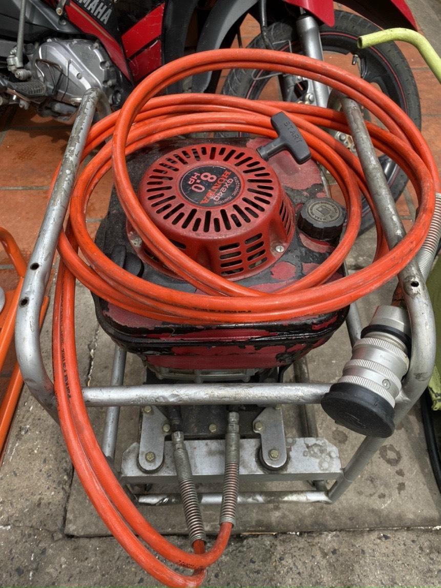 Bơm thuỷ lực cao áp động cơ xăng