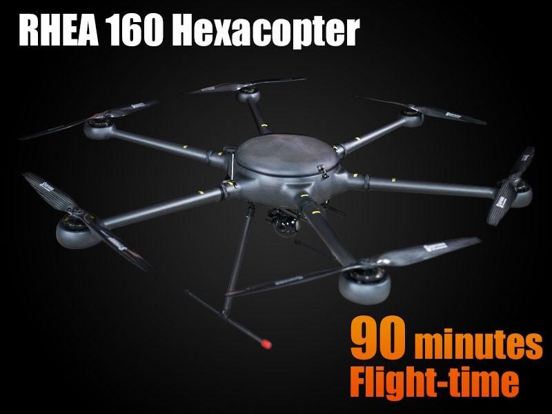 Máy bay rải dây mồi RHEA 160