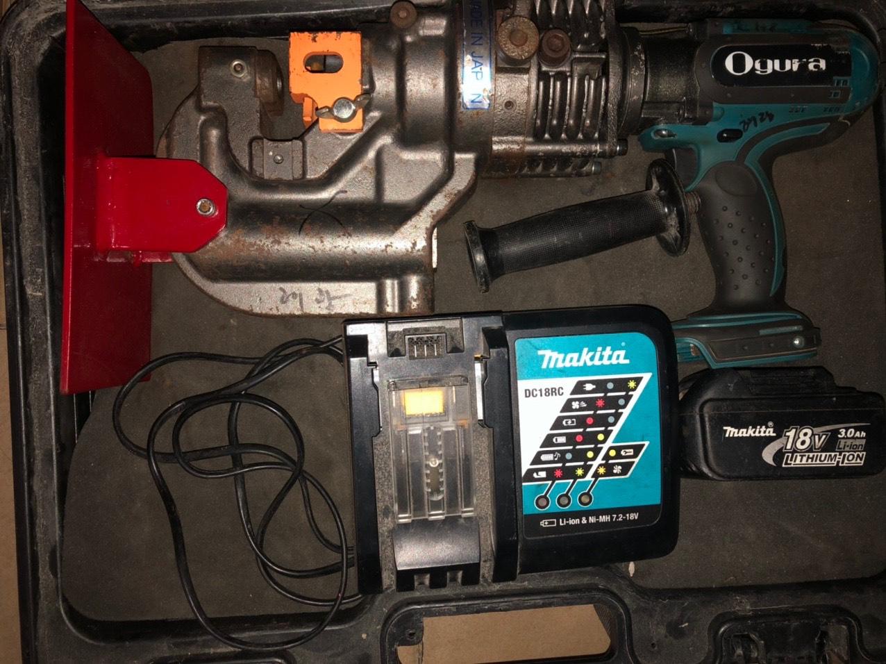 Máy đột lỗ dùng pin HPC-209WDF