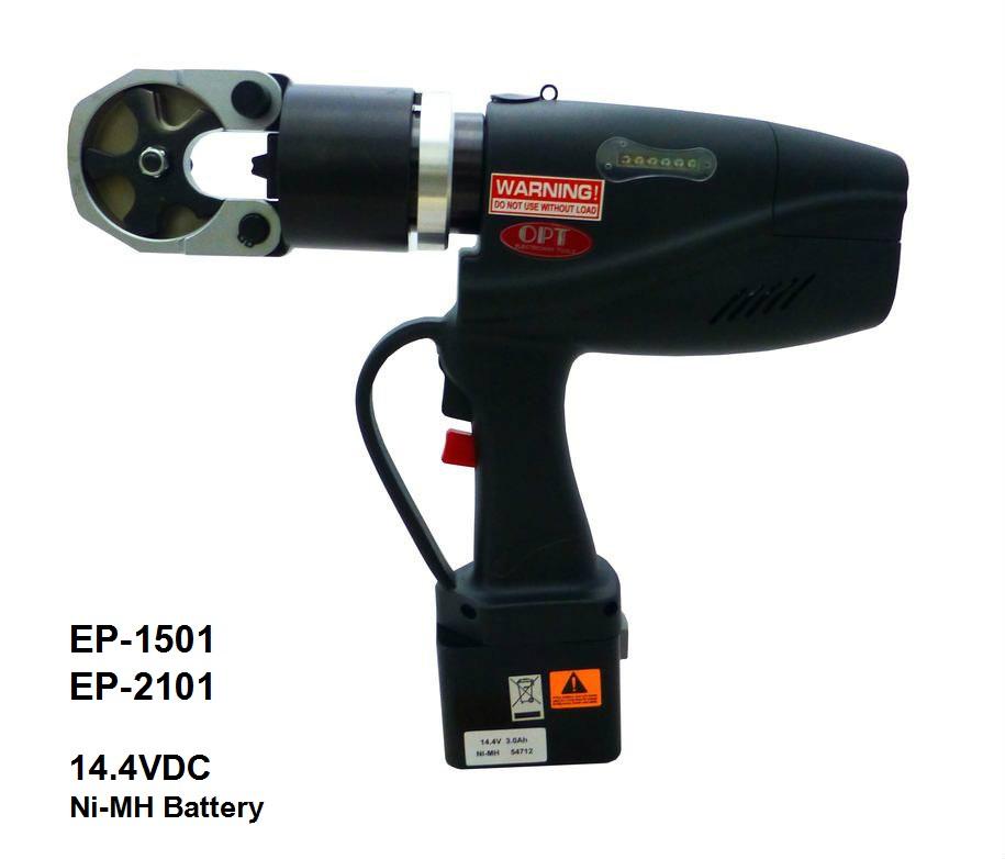 Kìm Bấm Cos Thủy Lực Dùng Pin OPT EP-1501C